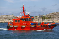 Pilot boat in the Swedish archipelago