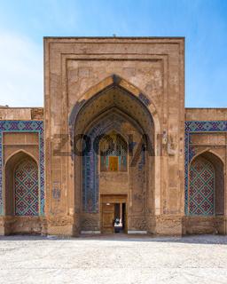 Ghyasyh School in Khargerd, Khorasan province, Iran.