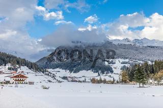 Valle Aurina in winter