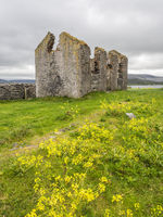 Ruins of an old house in ireland