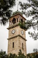 Historical Balıkesir Clock Tower in Turkey