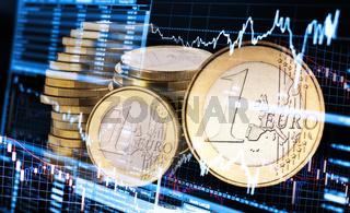 Schwankender Kurs des Euro