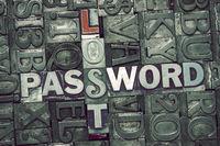lost password met
