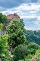Historic castle of Pottenstein