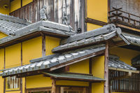 Traditional House Detail, Kyoto, Japan