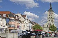 Der Stadtplatz von Deggendorf