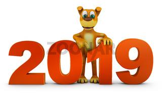 dog end volumetric figures 2019