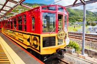 The Sagano Romantic Train Kyoto Japan
