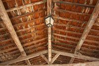 Lagrasse Dach
