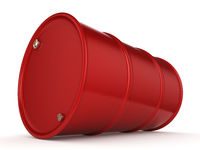 3D rendering red barrel