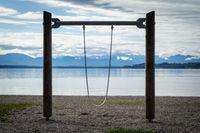 lonely children's playground