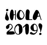 Hola 2019 - lettering