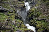 Stigfossen Wasserfall am Trollstigen