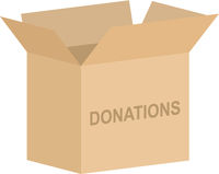 Charity Box Vector