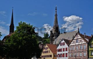 Frauenkirche und Münster St. Paul in Esslingen am Neckar