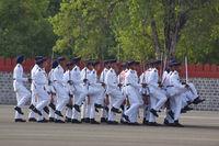 PUNE, MAHARSHTRA, INDIA, May 2018, Cadets at the NDA passing out Parade