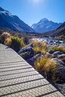Hooker Valley Track, Aoraki Mount Cook, New Zealand