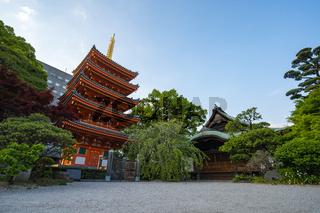 Tocho-ji temple in Hakata, Fukuoka, Japan
