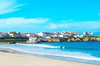 Portugal beach ocean town