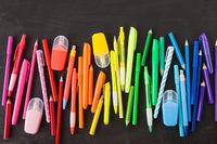 Verschiedene bunte Stifte