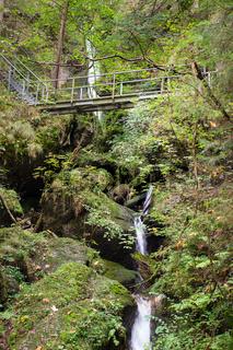 Bayrischer Wasserfall 002. Deutschland