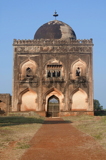 Entrance to the Tomb of Ali Barid Shah, Bidar, Karnataka