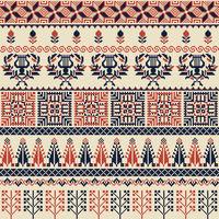 Palestinian embroidery pattern 30