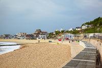 Lyme Regis Marine Parade. West Dorset. England