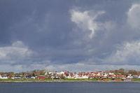Fahrt mit der Autofähre vom Valset über den Trondheimfjorden nach Brekstad