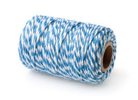 Blue striped cotton bakers twine spool