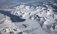 Luftbild von Grönland