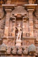 Shiva as Gangadhara, niche on northern wall, Brihadisvara Temple, Tanjore, Tamil Nadu