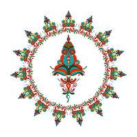 Hungarian folk motif 3