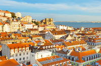 Skyline Lisbon Old Town, Portugal