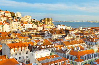 Skyline Lisbon Old Town, Portugal