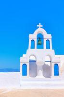 Campanile in Santorini
