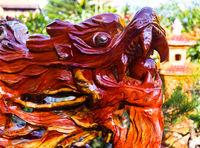 Wood sculpture Vietnam