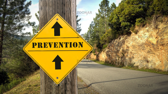 Street Sign to Prevention