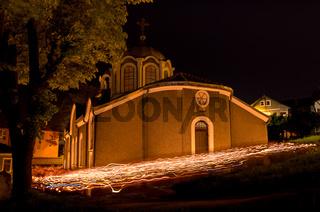 The Church of St. John the Baptist XVI Century, Gabrovo, Bulgaria. Medieval Christian Church.