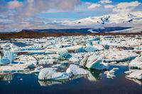 Drift ice Ice Lagoon - Jokulsarlon