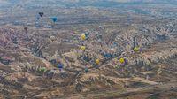 Balloon ride in Capadocia, Turkey