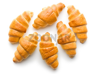 Sweet buttery croissants.