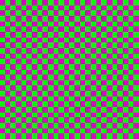 Simple checkerboard background