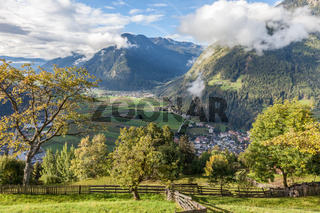 View into the Tauferer Valley