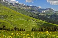 Sommerfrische Chalets d'Hermance, Megeve, Savoyen, Frankreich