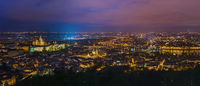 Prague cityscape in Czech Republic