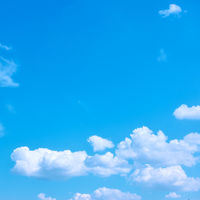 Blue sky with white clouds - Background
