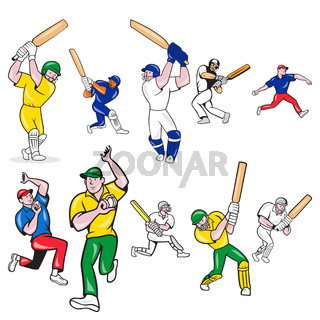 cricket-player-CARTOON-SET
