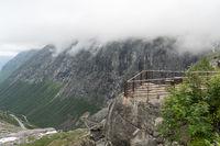 Aussichtsplattform am Trollstigen