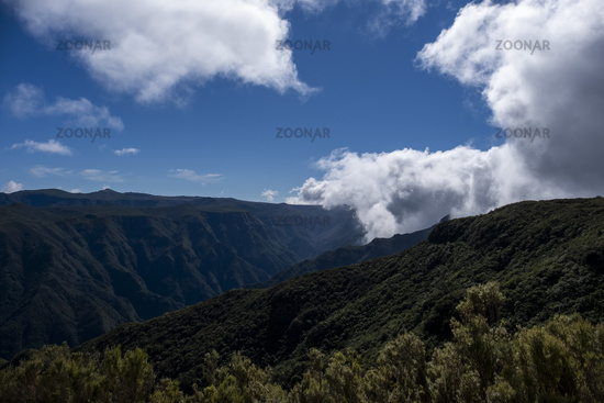 Ausblick vom Miradouro do Rabacal